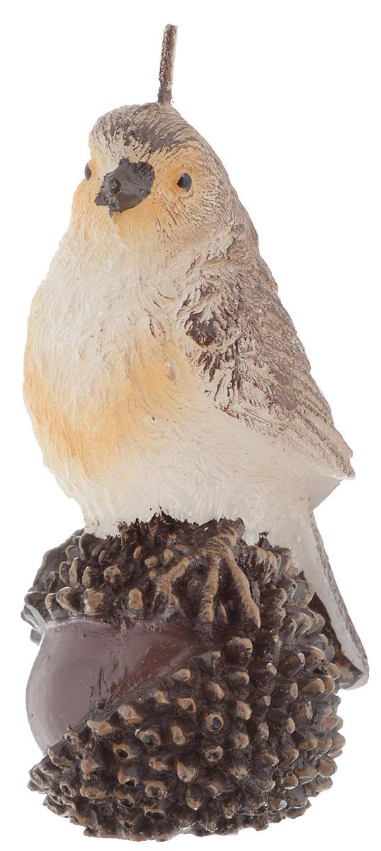 Свеча Winter Wings Воробей, высота 11 смRH5645Свеча Winter Wings Воробей, изготовленная из парафина, станет прекрасным украшением интерьера помещения в преддверии Нового года. Такая свеча создаст атмосферу таинственности и загадочности и наполнит ваш дом волшебством и ощущением праздника. Хороший сувенир для друзей и близких.