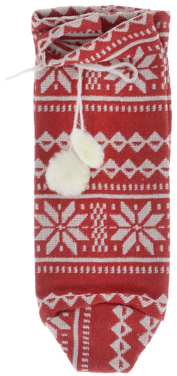 Мешок подарочный Winter Wings Норвежские узоры, 14 х 14 х 24 смDP-C04-39513RМешок Winter Wings Норвежские узоры, выполненный из полиэстера, предназначен для подарков. Мешочек украшен оригинальным узором и помпонами. Такой аксессуар особенно актуален в преддверии новогодних праздников. Откройте для себя удивительный мир сказок и грез. Почувствуйте волшебные минуты ожидания праздника, создайте новогоднее настроение вашим дорогим и близким.Размер мешка: 14 х 14 х 24 см.