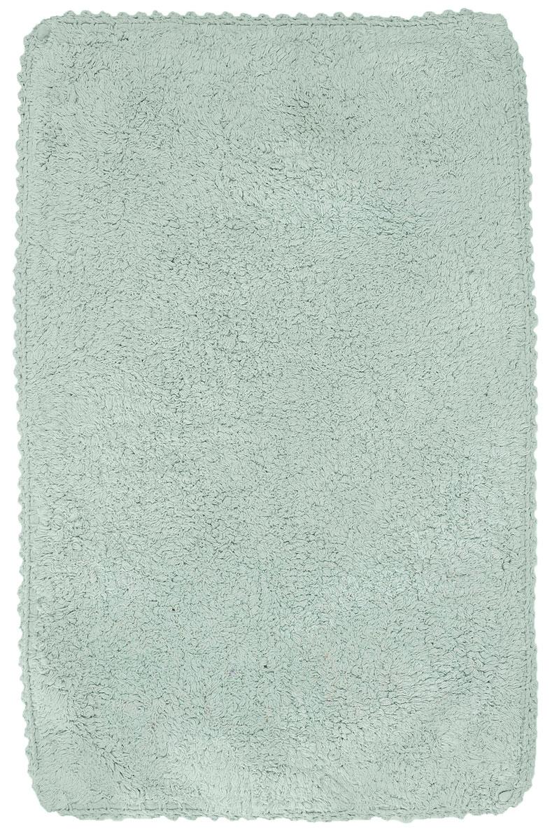 Коврик для ванной Modalin Hacri, цвет: ментол, 50 х 80 см531-105Коврик для ванной Modalin Hacri выполнен из высококачественного хлопка. Изделие долго прослужит в вашем доме, добавляя тепло и уют, а также внесет неповторимый колорит в интерьер ванной комнаты. Кромка выполнена под кружево.