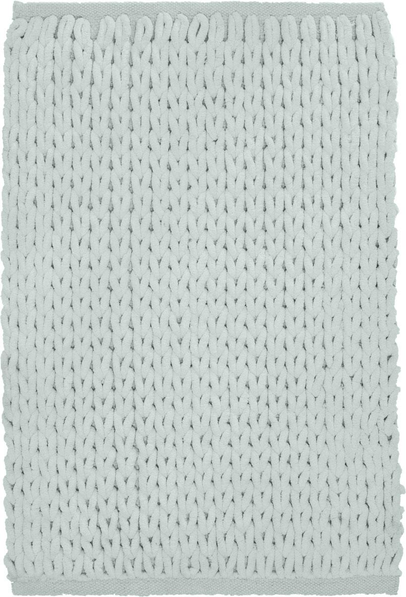 Коврик для ванной Modalin Torino, цвет: ментол, 50 х 80 смa030041Коврик для ванной Modalin Torino выполнен из высококачественного хлопка. Изделие долго прослужит в вашем доме, добавляя тепло и уют, а также внесет неповторимый колорит в интерьер ванной комнаты.