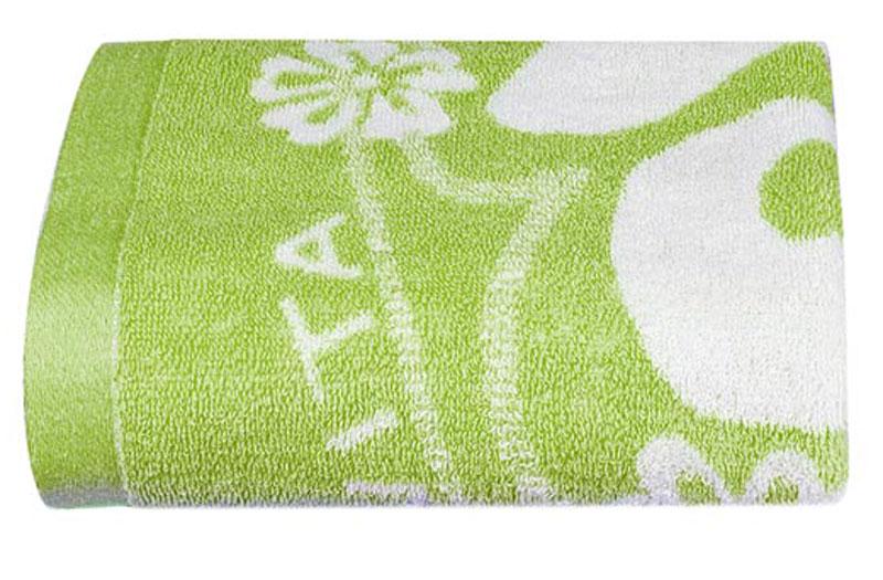 Полотенце Soavita Цветы, цвет: светло-зеленый, белый, 68 х 135 см1004900000360Банное полотенце Soavita Цветы выполнено из 100% хлопка с мягким ворсом и оформлено цветочным принтом. Изделие отлично впитывает влагу, быстро сохнет, сохраняет яркость цвета и не теряет форму даже после многократных стирок. Полотенце очень практично и неприхотливо в уходе. Оно создаст прекрасное настроение и украсит интерьер в ванной комнате.Перед использованием постирать при температуре не выше +40°С.