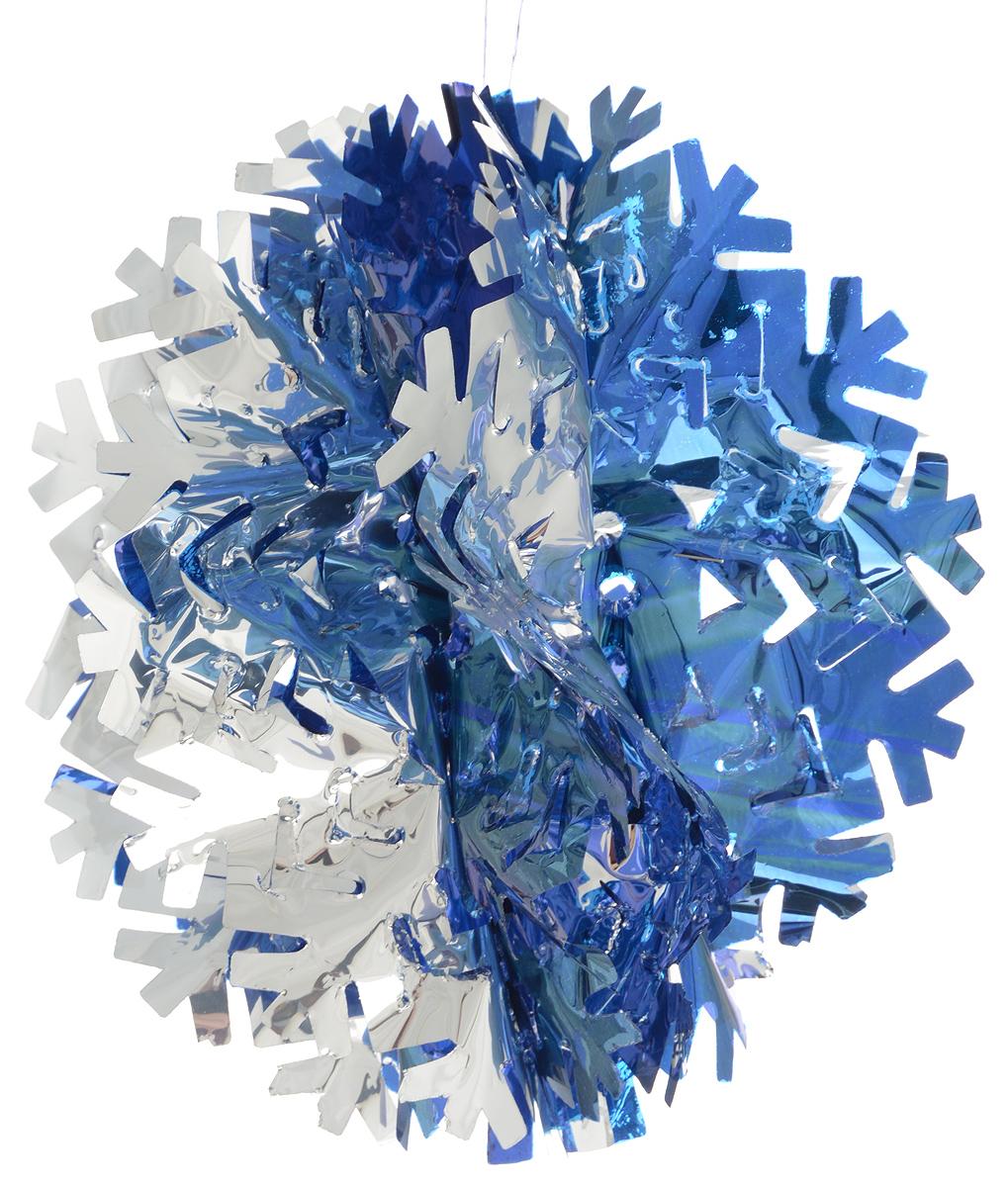 Гирлянда новогодняя Magic Time Снежинка объемная цветная, 20 х 10 см42517Новогодняя гирлянда Magic Time Снежинка объемная цветная прекрасно подойдет для декора дома и праздничной елки. Украшение выполнено из ПЭТ. С помощью специальной петельки гирлянду можно повесить в любом понравившемся вам месте. Легко складывается и раскладывается.Новогодние украшения несут в себе волшебство и красоту праздника. Они помогут вам украсить дом к предстоящим праздникам и оживить интерьер по вашему вкусу. Создайте в доме атмосферу тепла, веселья и радости, украшая его всей семьей.