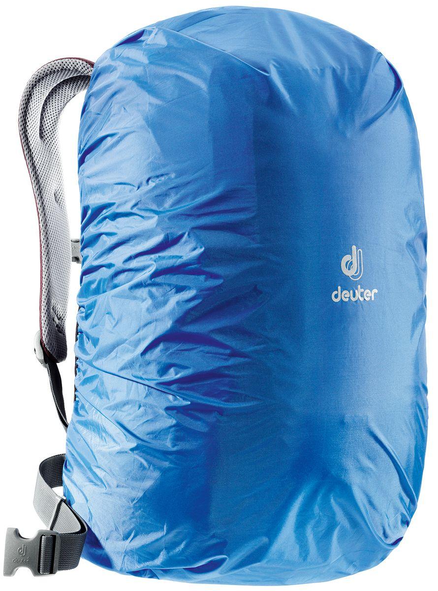 Чехол для рюкзака Deuter Raincover Square, от дождя, цвет: голубой, 20-32 лKOC-H19-LEDЧехол от дождя яркого цвета гарантирует, что ваш рюкзак и его содержимое останется сухим даже после проливного дождя. Отличная влагозащита благодаря полиуретановому покрытию и швам, проклеенным лентой. Светоотражающий логотип повышает безопасность на дорогах. Материал: Taffeta-Nylon. Вес: 70 г. Объем: 20-32 л. Размеры: 50 х 34 х 24 см.