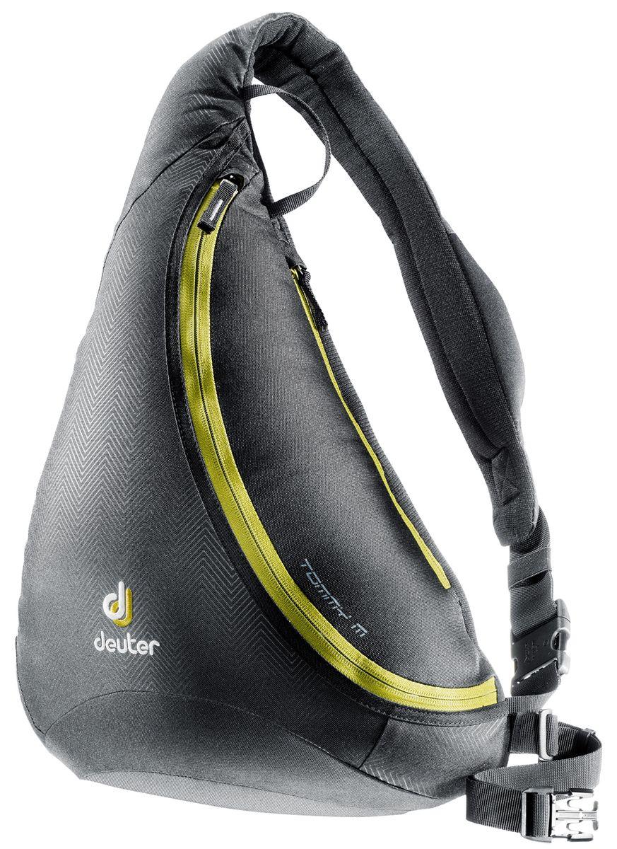 Рюкзак городской Deuter Tommy M, цвет: черный, хаки81213_7260Deuter Tommy M - это идеальное сочетание рюкзака и сумки.Особенности: -Материал: Deuter-Ripstop 210, Deuter-Super-Polytex -Объем: 8 Литров -Размеры: 45 x 33 x 20 см -Вес: 440 Гр -Карман на молнии сзади -Наплечный ремень