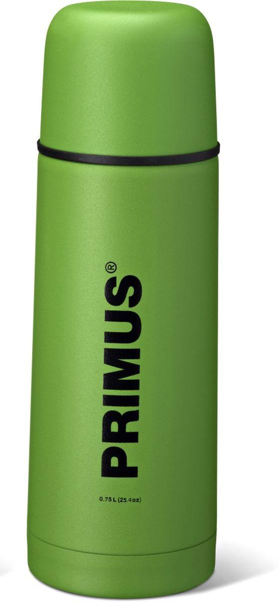 Термос Primus C&H Vacuum Bottle, цвет: зеленый, 750 мл. P737800P737800Термос имеет двойные стенки, изготовлен из нержавеющей стали и покрыт износостойкой порошковой краской.C & H в названии модели - это холодный и горячий, что означает, что благодаря своим превосходным возможностям теплоизоляции, термос способен поддерживать температуру холодных и горячих напитков в течении нескольких часов. Комбинированная крышка, сочетающая в себе кружку, компактный и легкий дизайн, удобный клапан с функцией Quick-stop делают термос Primus C&H Vacuum Bottle максимально удобным и функциональным. Его легко расположить как внутри рюкзака, так и в боковом кармане.Объем термоса: 750 мл.