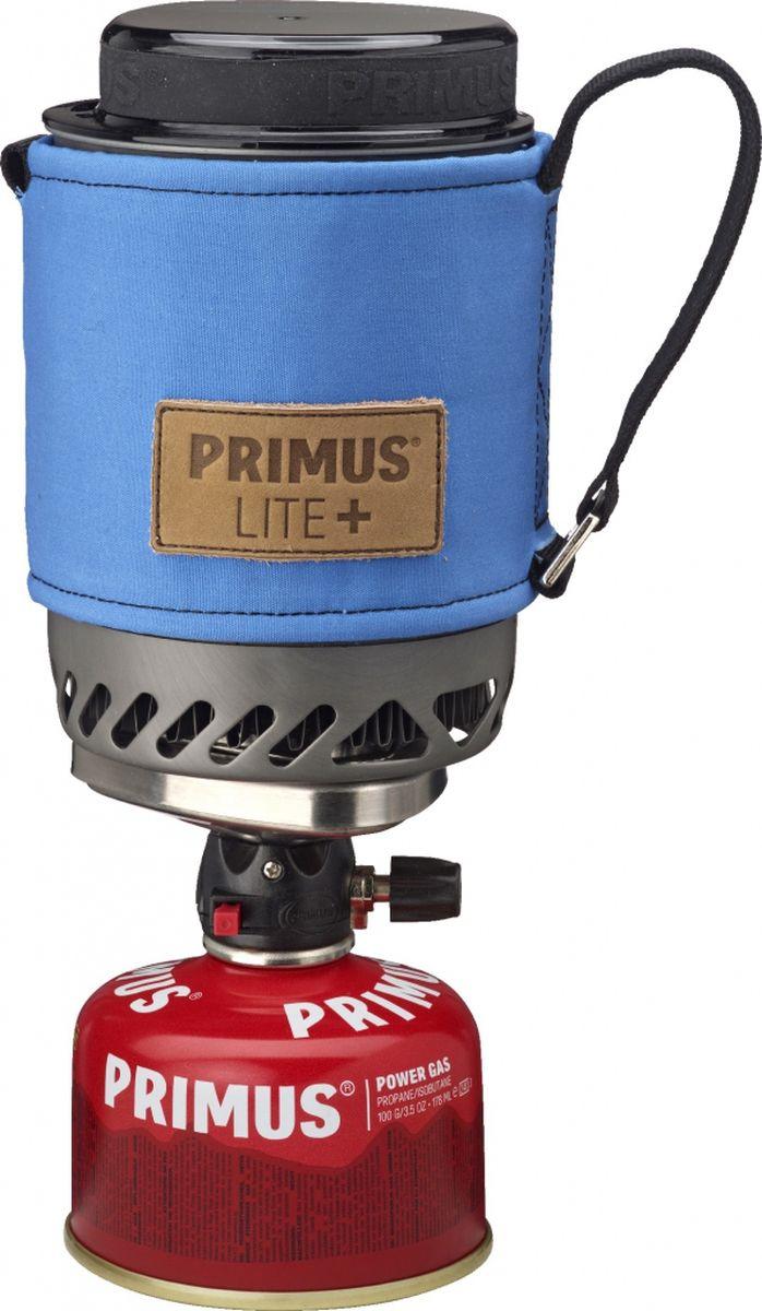 Горелка газовая Primus Lite Plus, цвет: синий. P356008321483Модель Lite + устанавливает новый стандарт для компактных горелок. Уникальный механизм блокировки (подана заявка на патент) делает его очень простым в использовании. Благодаря ламинарному потоку газа Burner Technology (подана заявка на патент) уменьшаются затраты газа. Идеально подходит для соло поездки или кофе-брейка для двоих (дополнительно есть в продаже кофе пресс). Горелка и все аксессуары, в том числе газовый баллончик 100 грамм, укладывается в 500 мл кастрюлю из закаленного анодированного алюминия. Модель Lite + поставляется с новым термостойким рукавом из прочной войлока. Рукав оснащен лямками с помощью которых горелку можно подвесить в вертикальном положении. Крышка сокращает время приготовления пищи. В комплект входит подставка под газовый баллон для устойчивого положения на неровной поверхности. Газ не входит в комплект.Высота (мм): 150Диаметр (мм): 100Сезон: трехсезоннаяМощность: 1500 ВтКипячение: 2:45 мин (0,5 л)Кол-во человек: 1Зажигание: пьезоВес: 390 г