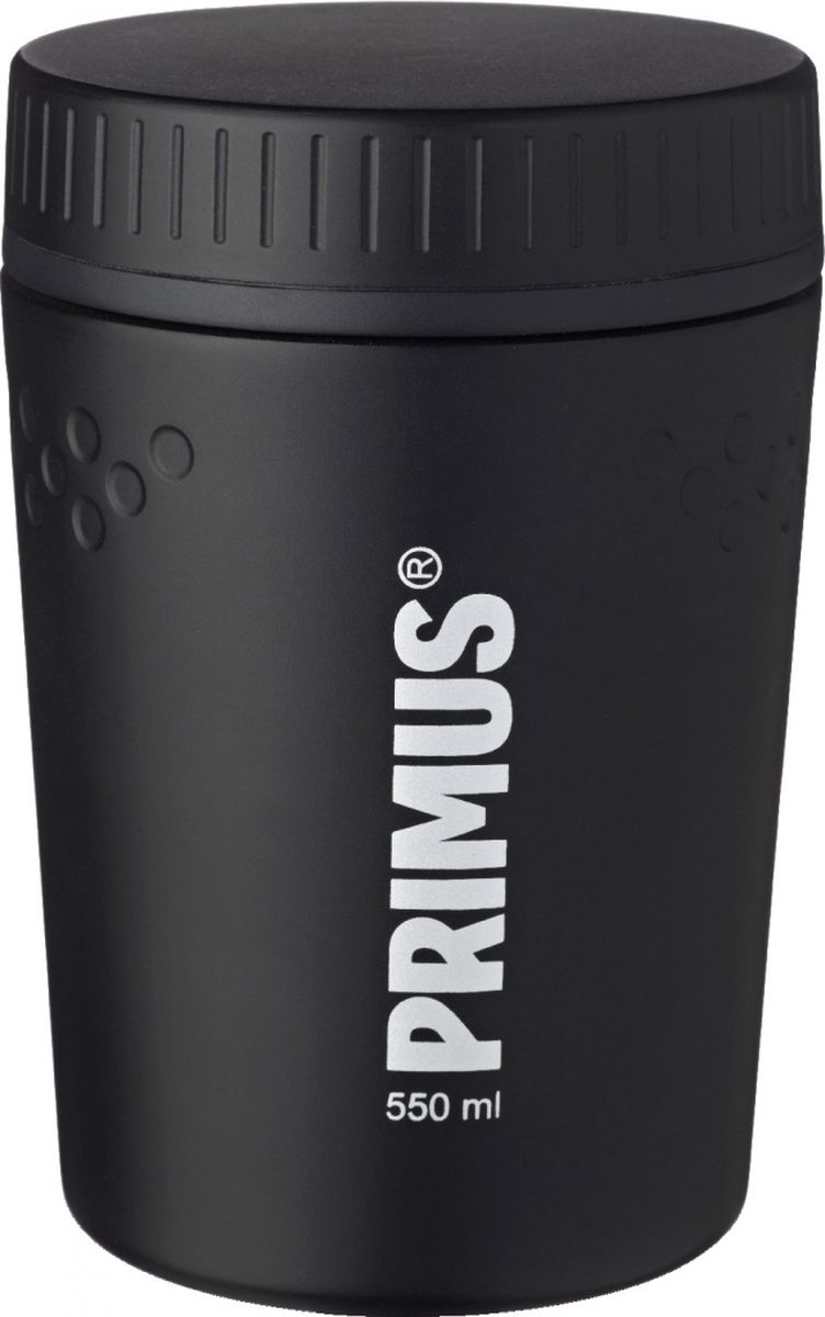 Термос Primus TrailBreak Lunch Jug, цвет: черный, 550 мл. P737944