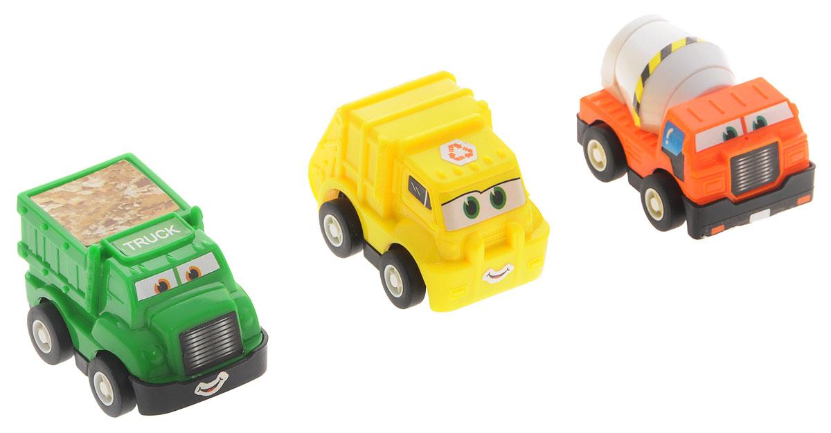 Дрофа-Медиа Набор инерционных машинок Строительная техника 3 шт дрофа медиа набор инерционных машинок speedy cars 8 шт