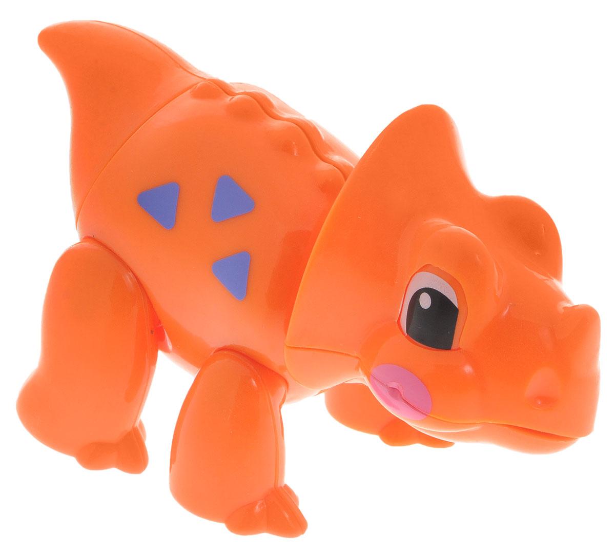 1TOY Фигурка В мире животных Динозавр цвет оранжевый аукцыон у митьков хвост у митьков