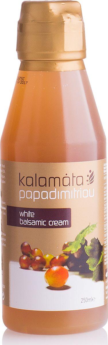 Papadimitriou белый бальзамический соус, 250 мл220803/22261Кремообразный, ароматный, кисло-сладкий на вкус.