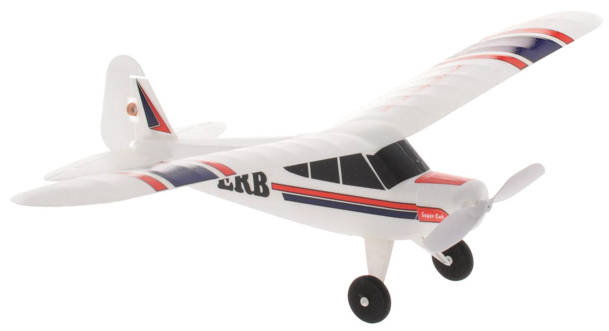 """Реалистичный самолет на радиоуправлении Pilotage """"Super Cub RTF"""" специально спроектирован для полета на небольшом стадионе, теннисном корте или поляны в ближайшем парке. Модель управляется по трем каналам: контроль оборотов двигателя, руль направления и руль высоты. Игрушка выполнена из пластика. Самолет готов к полету прямо из коробки, и запускать его можно хоть целый день, пока не разрядятся батарейки в передатчике. Вес модели всего 12 грамм, а размах крыльев 34,5 сантиметров. Аккумулятор самолета заряжается от встроенного зарядного устройства. Миниатюрный """"Super Cub RTF"""" очень устойчивый и маневренный, вы сможете летать в любое время, главное, чтобы не было сквозняков. В умелых руках """"Super Cub RTF"""" способен выполнять пилотажные маневры, взлетать и садиться как настоящей самолет. Эта модель понравится новичкам, она проста в управлении и прощает ошибки. Оставайтесь на высоте, маневрируйте, а если есть единомышленники и друзья - покупайте несколько самолетов, и..."""