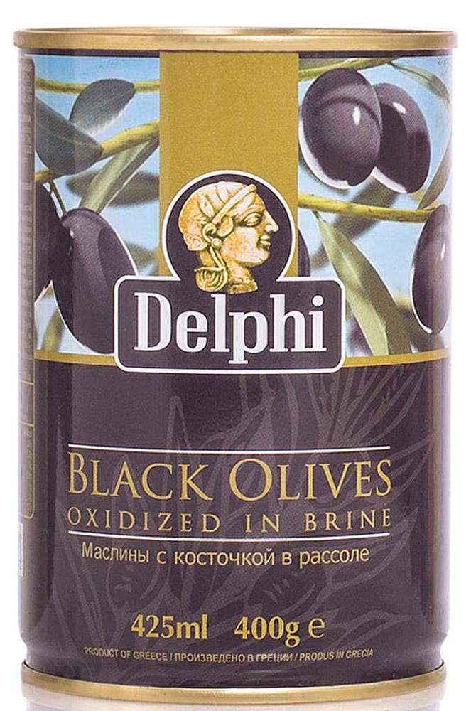 Delphi Маслины с косточкой в рассоле Superior 261-290, 400 г0120710Маслиныиз Греции популярны по всему миру благодаряполезным веществам и витаминам, содержащимся в них. Их используют вомногих кухнях мира, в салатах, закусках, пицце.