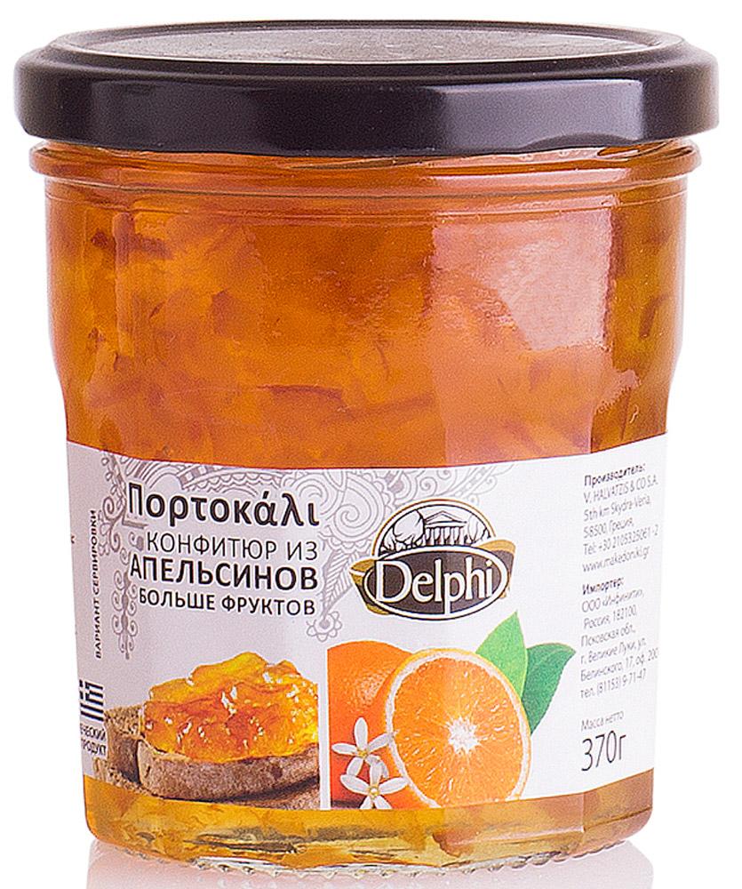 Delphi Конфитюр апельсиновый V. Halvatzis, 370 г1093Необычный греческий густойконфитюриз сладкихапельсиновподаритвам невероятное удовольствиевкаждой ложке.