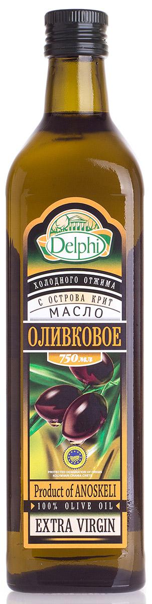 Delphi Оливковое масло с острова Крит, 750 мл0120710Оливковое масло является источником витамина Е и антиоксидантов, в нем содержится линолевая кислота, которая способствует выведению холестерина из организма. Кроме полезных свойств, натуральное оливковое масло обладает приятным вкусом, обогащающим любые блюда.
