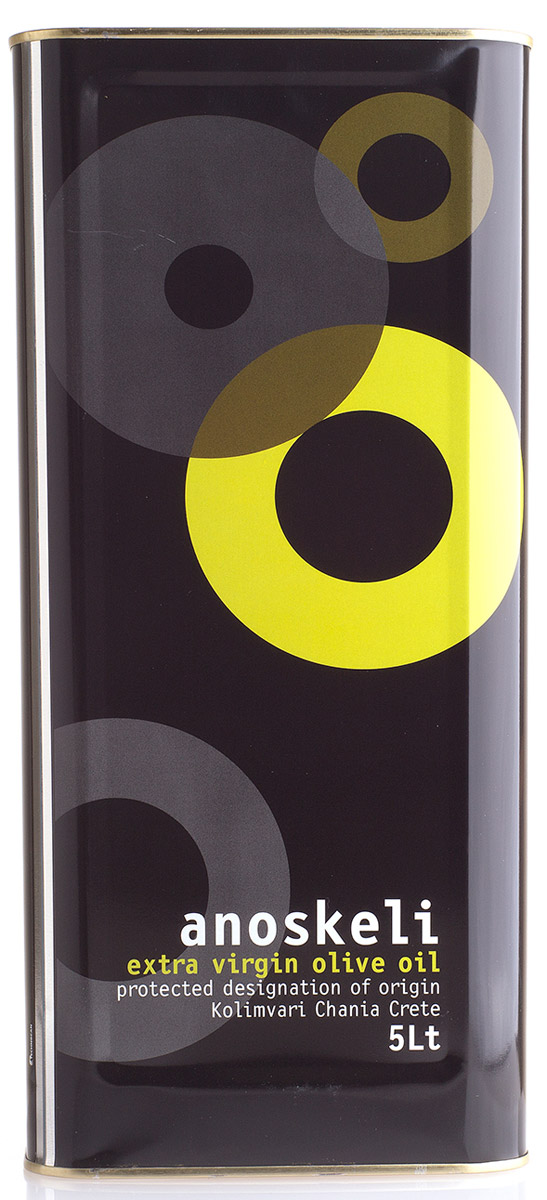 Anoskeli масло оливковое Extra Virgin, 5 л102205000677В оливковом масле содержатся витамины A,D,E, а также ненасыщенные жиры, полезные для сердца и сосудов (Омега-3,6,9). Все полезные вещества, содержащиеся именно в оливковом масле усваиваются организмом почти на 100%. Идеально для добавления в салаты, а также другие блюда.