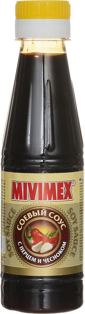 Mivimex Соевый соус с перцем и чесноком, 200 г