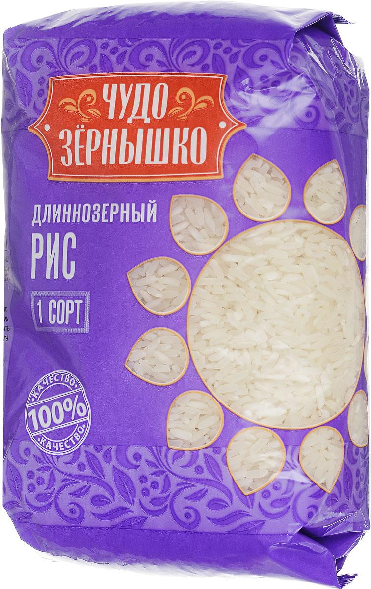 Чудо Зернышко Рис длиннозерный 1 сорт, 800 г