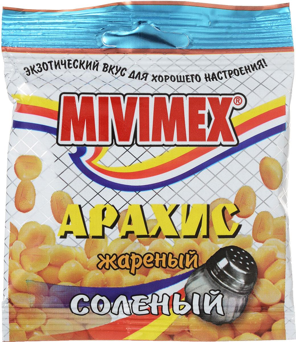 Mivimex Арахис жареный соленый, 25 г0120710Жареный соленый арахис Mivimex содержит полезные микроэлементы ивитамины, готов к употреблению.