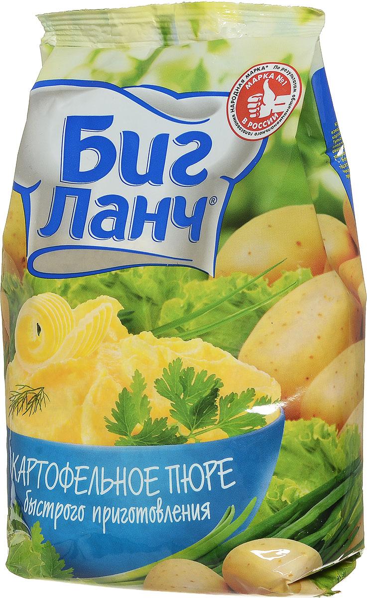 Биг Ланч Картофельное пюре быстрого приготовления, 250 г0120710Картофельные хлопья, используемые для производства продукции Биг Ланч, произведены из картофеля, выращенного в центральной России - Тульской и Брянской областях. Они широко известны плодородием, которое гарантирует произрастание овощей высокого качества, богатых витаминами и микроэлементами. Бережно собранные картофельные клубни тщательно перерабатывают на одном из ведущих предприятий России, сохраняя все полезные природные качества, вкус и аромат картофеля.
