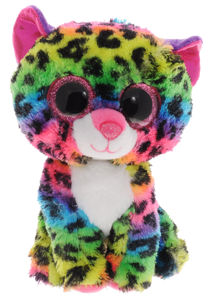 TY Мягкая игрушка Леопард Dotty 14 см