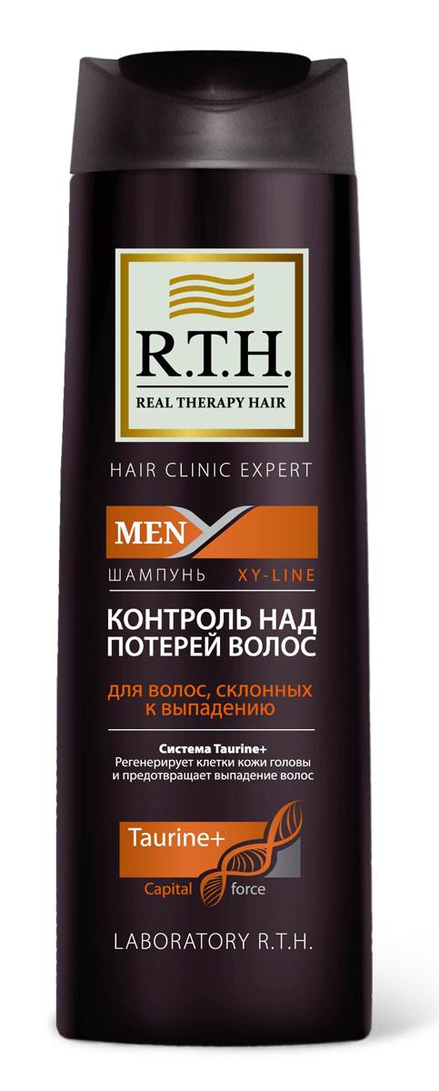 Шампунь R.T.H. Men Контроль над потерей волосMP59.4DФормула шампуня обогащена системой Taurine+, которая утолщает и укрепляет стержень волоса, предотвращает процесс преждевременного выпадения волос. Комбинация витаминов PP и B6 обеспечивает регенерацию клеток кожи головы и корней волос.