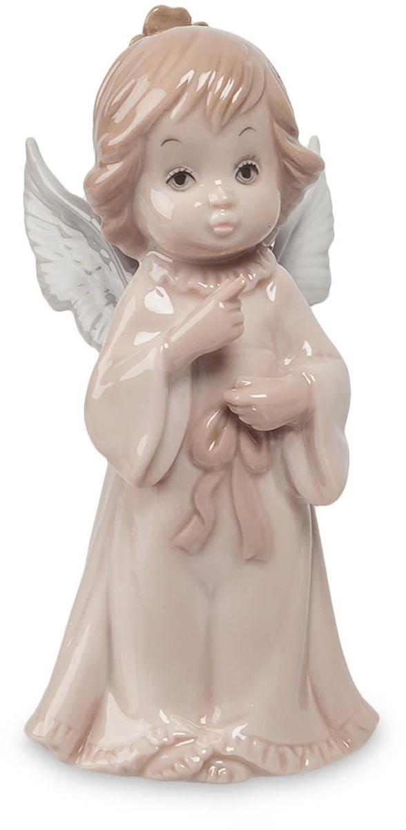 Фигурка декоративная Pavone Ангел, высота 12 смJP-05/ 9Декоративная фигурка Pavone Ангел, выполненная в виде ангелочка, который символизирует совесть и человеколюбие, будет вас радовать и достойно украсит интерьер вашего дома или офиса. Фигурка изготовлена из глазурованного фарфора. Вы можете поставить украшение в любом месте, где оно будет удачно смотреться и радовать глаз. Кроме того, эта фигурка станет прекрасным подарком для близкого человека.