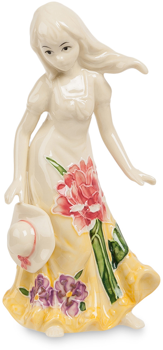 Статуэтка Pavone Юная Леди. JP-97/26THN132NСтатуэтка Девочки высотой 15 см.Говорят, если долго смотреть на девочку, то можно увидеть, как она выходит замуж.
