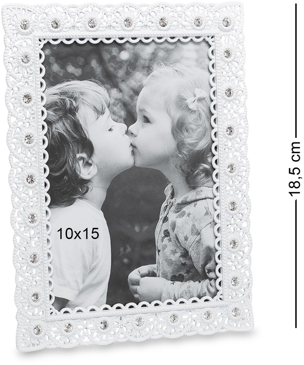 Фоторамка Bellezza Casa Искры любви, фото 10х15. CHK-200THN132NФоторамка для фотографий 10х15 см.Несмотря на развитие высоких технологий, искусство фотографии живо и активно развивается. И все мы, часто пересматриваем старые и новые фото, тем самым оживляя воспоминания о самых прекрасных и родных нашему сердцу мгновениях жизни.
