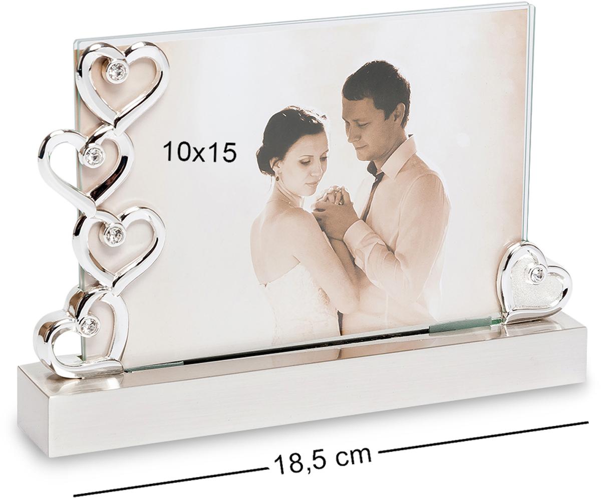 Фоторамка Bellezza Casa Мгновения любви, фото 10х15. CHK-045RG-D31SФоторамка для фотографий 15х10 смУ каждого человека были такие моменты жизни, которые можно назвать красивым и емким определением Мгновения любви. Под одноименным названием рекомендуем приобрести рамку для фотографий. Эта рамка уникальна тем, что она как будто создана именно для романтичных фотографий, с изображением самых счастливых моментов своей жизни. Такая рамка для фото прослужит своим счастливым владельцам еще долгое время. Она также может выступить в роли оригинального подарка для молодоженов, супругов, отмечающих юбилей совместной жизни, своему возлюбленному и любимой. Ее оптимальные размеры позволят поместить рамку на столе или в кабинете, на полке или на ночном столике.