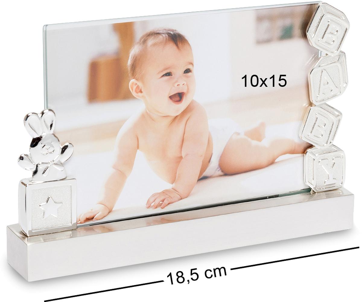 Фоторамка Bellezza Casa Мой Зайка, фото 10х15. CHK-046RG-D31SФоторамка для фотографий 15х10смПервая улыбка, первый зубик, первый шажок... Как быстро растет и меняется ребенок. Каждому родителю так важно запомнить эти перемены. В этом помогут фотографии, которые надо правильно оформить. Фоторамка Мой зайка станет прекрасным обрамлением ваших воспоминаний! Покрытие нейтрального белого цвета оттенит любую фотографию и будет прекрасно смотреться в каждом интерьере. А элементы декора: милый зайка и кубики будут гармонировать с изображением на фотографии. И вы, глядя на вашего кроху, снова улыбнетесь!