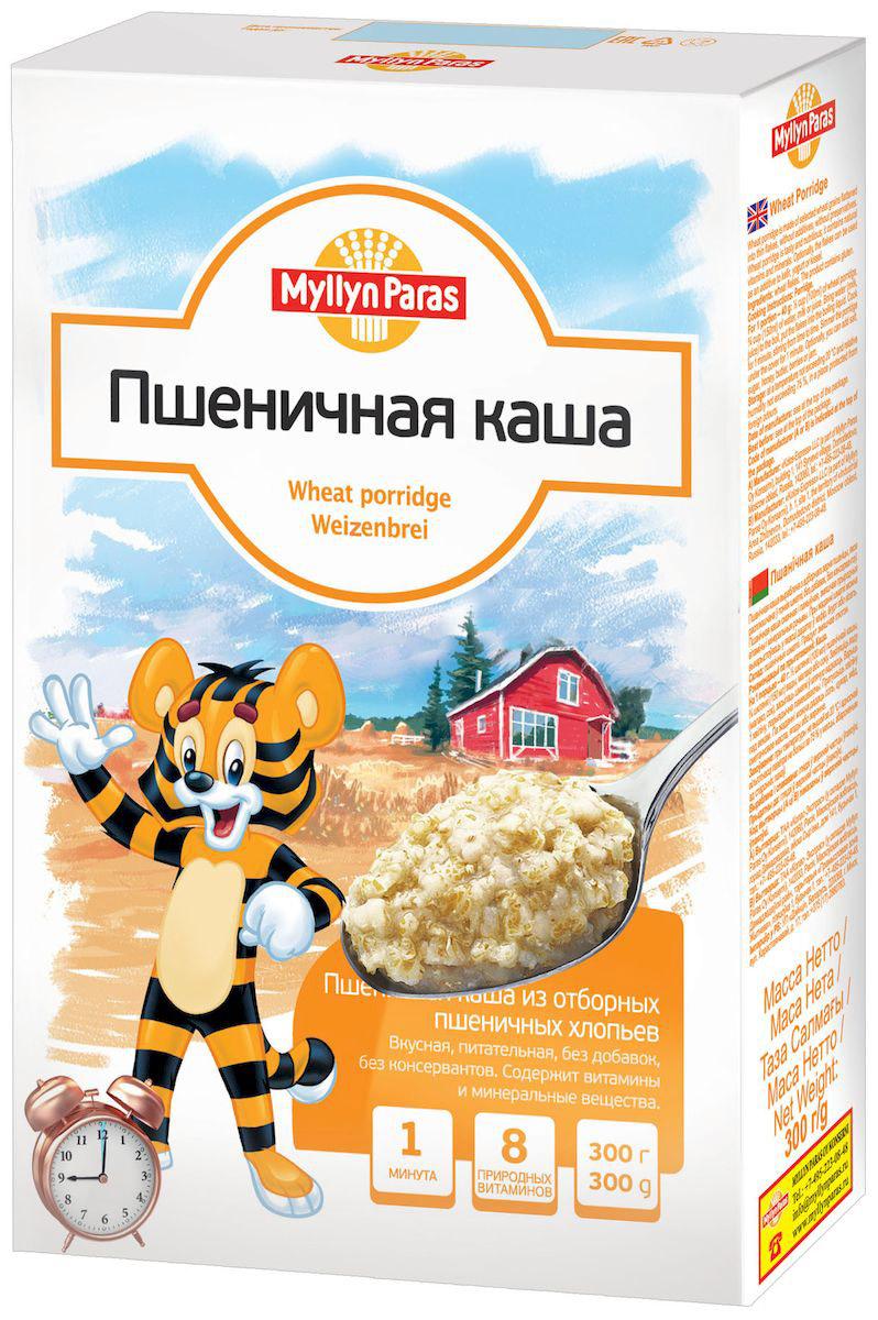 Myllyn Paras каша пшеничная, 300 г24Пшеничная каша Мюллюн Парас изготовлена из отборных пшеничных зерен, расплющенных в тонкие хлопья, без добавок, не содержит консервантов. Содержит витамины и минеральные вещества. Она великолепно подходит для приготовления детской каши. Также можно использовать в качестве добавки в йогурт или кисель.