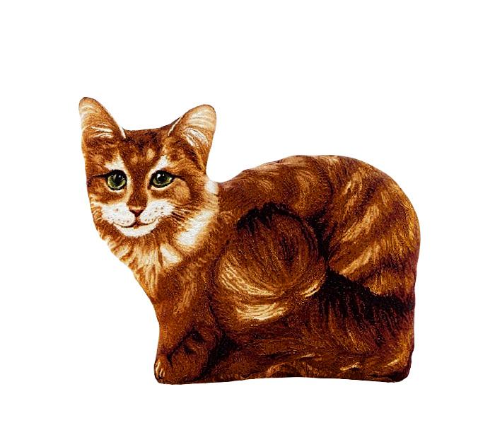 Подушка декоративная Рапира Василиса, 30 х 40 смCLP446Декоративная гобеленовая подушка Рапира, выполненная в виде рыжей кошки, невероятно мягкая и приятная на ощупь. Несъемный чехол изготовлен из гобелена (жаккардовое ткачество, 100% хлопок). В качестве наполнителя используется холлофайбер. Такая подушка станет приятным дополнением к интерьеру любой комнаты.