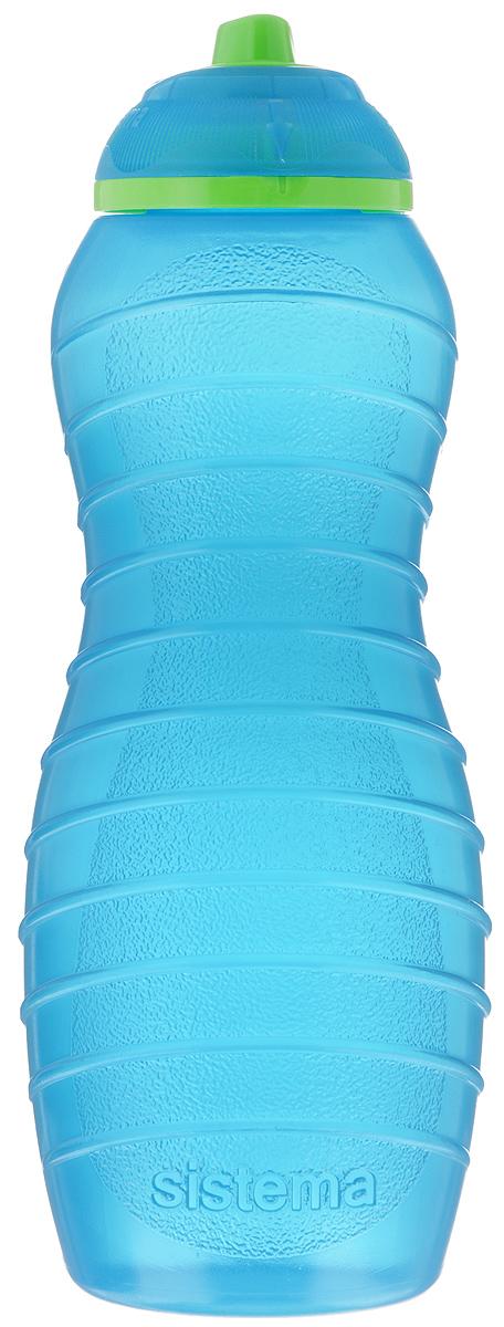 Бутылка для воды Sistema Twist n Sip, цвет: голубой, 700 мл19705_прозрачный, черныйБутылка для воды Sistema Twist n Sip изготовлена из прочного пищевого пластика без содержания фенола и других вредных примесей. Поверхность бутылки снабжена рельефом и специальными выемками для удобного хвата. Бутылка имеет уникальную запатентованную систему крышки Twist n Sip, которая предотвращает выливание жидкости и в то же время позволяет удобно пить напитки. С такой бутылкой вы сможете где угодно насладиться вашими любимыми напитками.