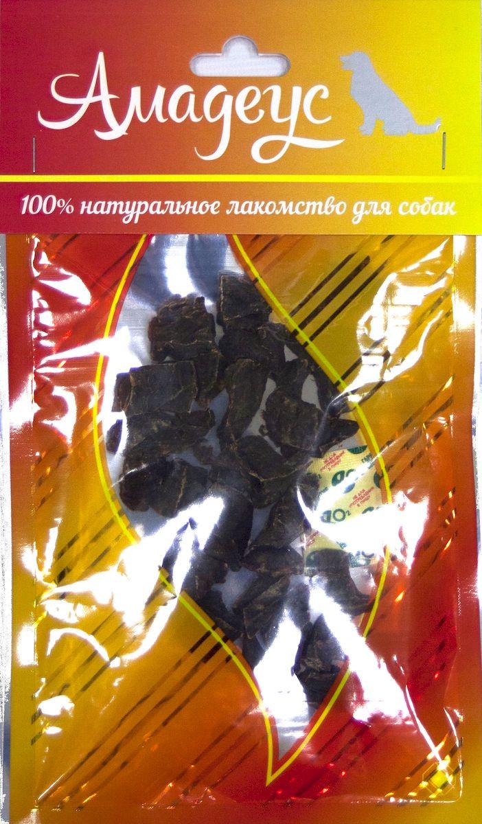 Лакомство для собак Амадеус Сердце говяжье, 50 г0120710Лакомство для кошек Амадеус Легкое говяжье - 100% натуральный продукт почти без запаха, а также без содержания химических добавок. При сушке не использовались отбеливатели и консерванты. Лакомство изготавливается из тщательно отобранного и проверенного высококачественного отечественного сырья. Содержит низкокалорийный, легкоусвояемый, гипоаллергенный белок. Продукт богат витаминами и ферментами микрофлоры желудка жвачных животных.Рекомендовано для профилактики витаминного и ферментного дефицита у собак и кошек всех пород и возрастов. Товар сертифицирован.