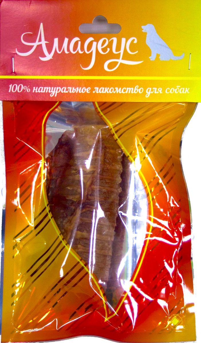 Лакомство для собак Амадеус Трахея большая колечками говяжья0120710Лакомство для собак Амадеус Трахея большая колечками говяжья - 100% натуральный продукт почти без запаха, а также без содержания химических добавок. При сушке не использовались отбеливатели и консерванты. Лакомство изготавливается из тщательно отобранного и проверенного высококачественного отечественного сырья. Содержит низкокалорийный, легкоусвояемый, гипоаллергенный белок. Продукт богат витаминами и ферментами микрофлоры желудка жвачных животных.Рекомендовано для профилактики витаминного и ферментного дефицита у собак и кошек всех пород и возрастов. Товар сертифицирован.
