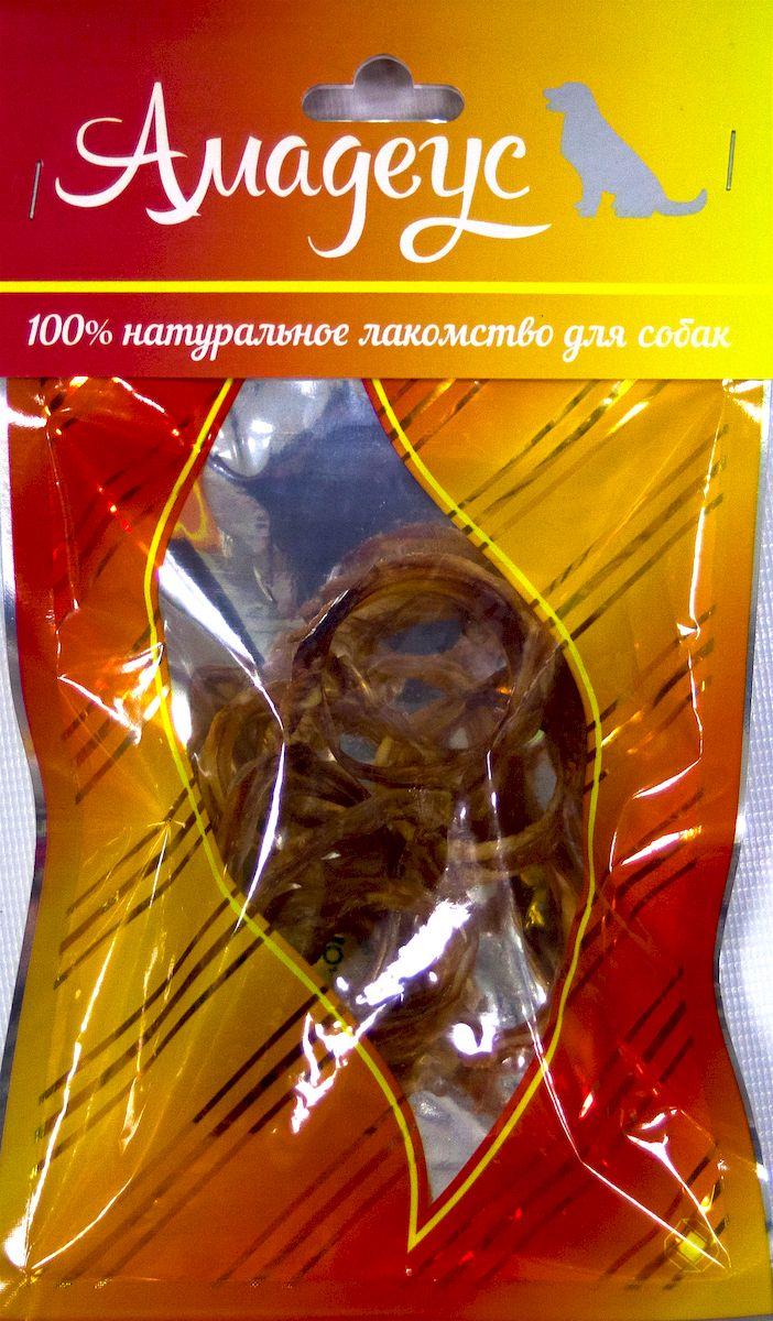 Лакомство для собак Амадеус Трахея малая колечками говяжья, 10 шт0120710Лакомство для собак Амадеус Трахея большая колечками говяжья - 100% натуральный продукт почти без запаха, а также без содержания химических добавок. При сушке не использовались отбеливатели и консерванты. Лакомство изготавливается из тщательно отобранного и проверенного высококачественного отечественного сырья. Содержит низкокалорийный, легкоусвояемый, гипоаллергенный белок. Продукт богат витаминами и ферментами микрофлоры желудка жвачных животных.В упаковке 10 колечек трахеи.Рекомендовано для профилактики витаминного и ферментного дефицита у собак и кошек всех пород и возрастов. Товар сертифицирован.