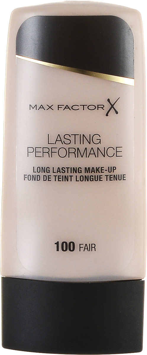 Max Factor Основа под макияж Lasting Perfomance, тон №100, 35 млSatin Hair 7 BR730MNMax Factor Lasting Perfomance - великолепная, по-настоящему стойкая тональная основа. Держится в течение 8 часов, не смазываясь и не оставляя следов на одежде. Создает красивый полуматовый эффект. Скрывая недостатки кожи, дарит ощущение легкости и естественности. Не ложится на кожу полосами, не забивает поры и не вызывает появления угревой сыпи. Без запаха.Одна из причин, по которой нанесенный на кожу Lasting Performance не вызывает ощущения чего-то неестественного, это входящие в его состав силиконы. Они делают основу более легкой и менее жирной. Товар сертифицирован.