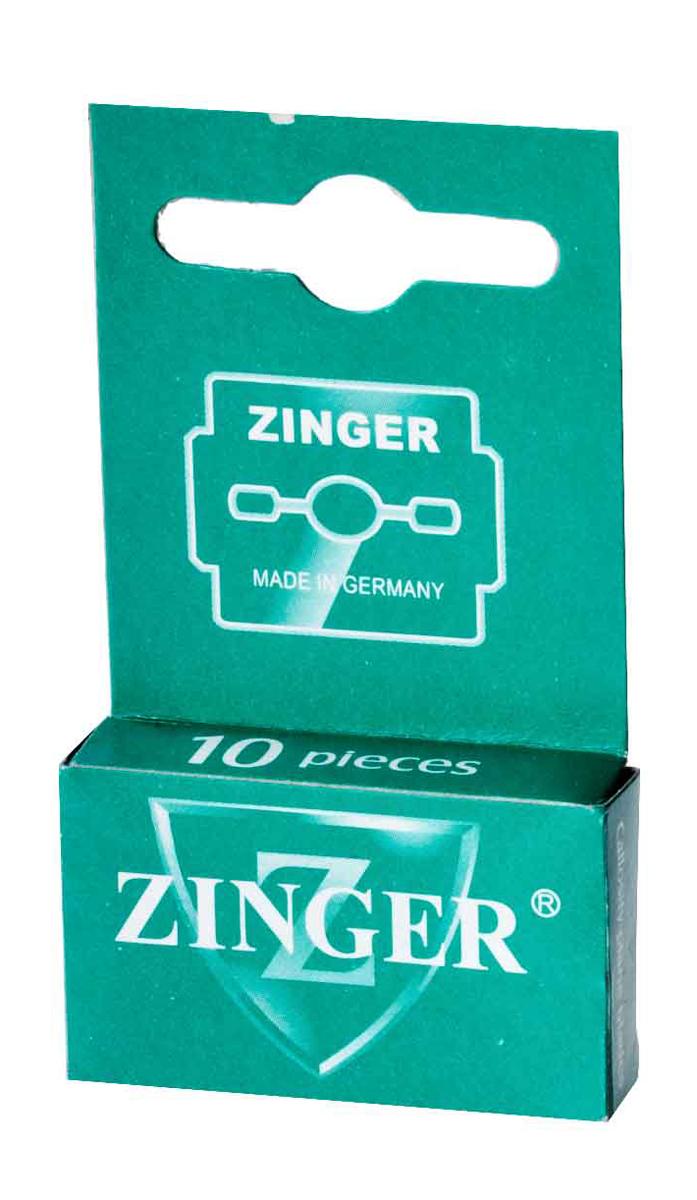 Zinger Лезвия для экстактора зеленые zo-BLADES-10-S, 10 штукSC-FM20104Комплект лезвий для педикюрного станка
