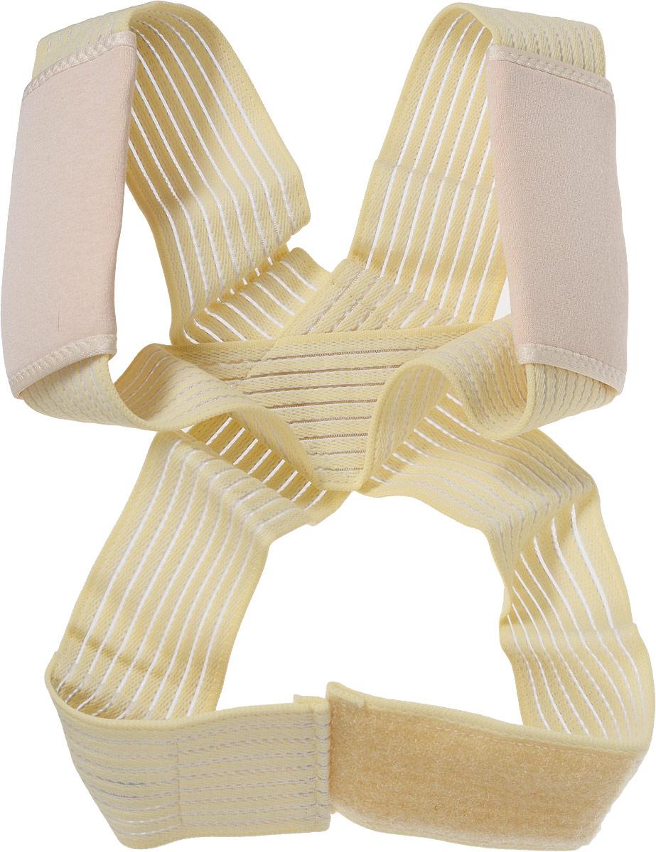 Корректор осанки Tonus Elast. 0107. Размер 3GESS-008Корректор осанки крестообразный, повышенной комфортности. Предназначен для профилактики и устранения нарушений осанки и искривлений позвоночника. Рекомендуется для формирования навыков физиологически правильной осанки.