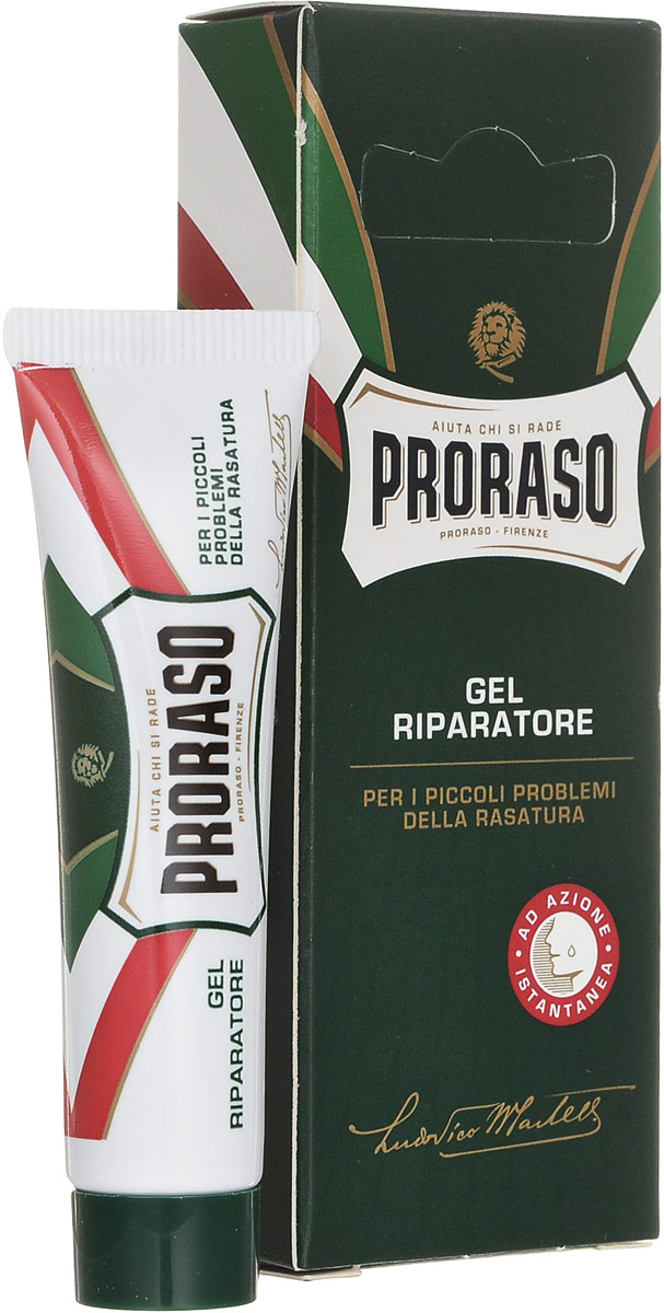 Proraso Гель после бритья 10 мл2101-WX-01Гель, заживляющий порезы - действует мгновенно.