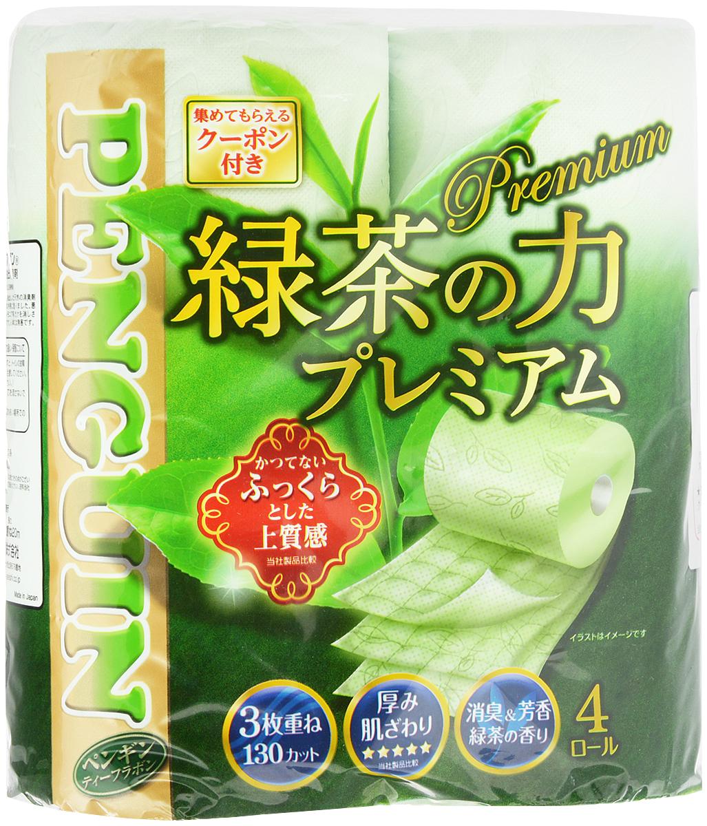 Бумага туалетная Marutomi Зеленый чай. Премиум, трехслойная, 4 рулона5036657Трехслойная туалетная бумага Marutomi Зеленый чай. Премиум изготовлена из вторичного сырья (переработанной бумаги) и целлюлозы, имеет приятный запах зеленого чая. Мягкая, нежная, но в тоже время прочная, бумага не расслаивается и отрывается строго по линии перфорации.Количество рулонов: 4 шт. Длина одного рулона: 20 м.