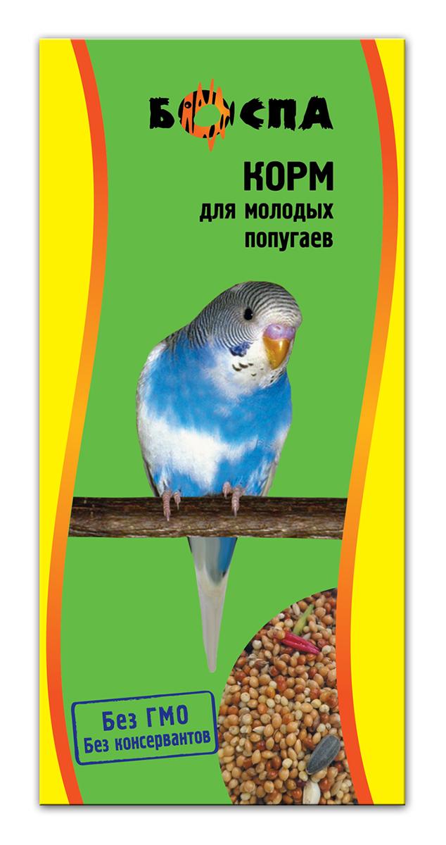 Корм для молодых попугаев Боспа, 500 г0120710Полнорационный корм для домашних животных