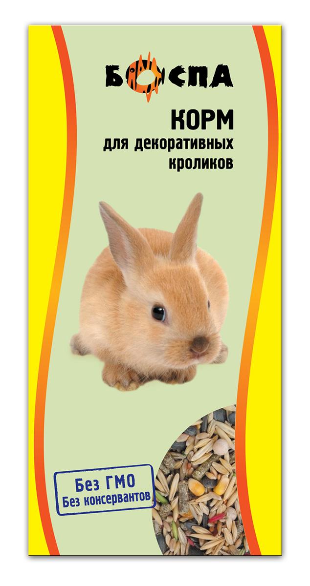Корм для декоративных кроликов Боспа, 500 г корм лакомство для кроликов праздничный обед 270 г