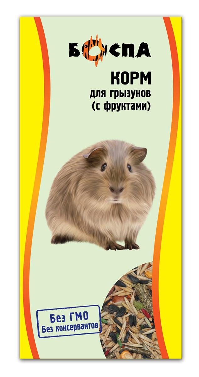 Корм для грызунов с фруктами Боспа, 500 г0120710Полнорационный корм для домашних животных