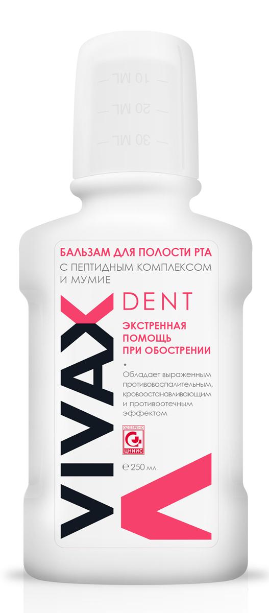 Vivax Бальзам для полости рта с пептидным комплексом и мумие, 250 мл84850536_золушка/голубой, розовыйОбладает выраженнымпротивовоспалительным,кровоостанавливающими противоотечным эффектомрекомендовано:в пред- и послеоперационный период. При кровоточивости десени воспалительных процессах.Снимает отечность и болезненныеощущения, оказывает антиоксидантное и противовоспалительноедействие, способствует восстановлению нормальной микрофлорыполости рта, укрепляет мягкие ткани пародонта, снижает риск возникновения различных заболеваний.Для достижения максимального эффекта рекомендуетсяиспользовать в комплексес зубной пастой vivax dentс бетулавитом® и пептиднымкомплексом.