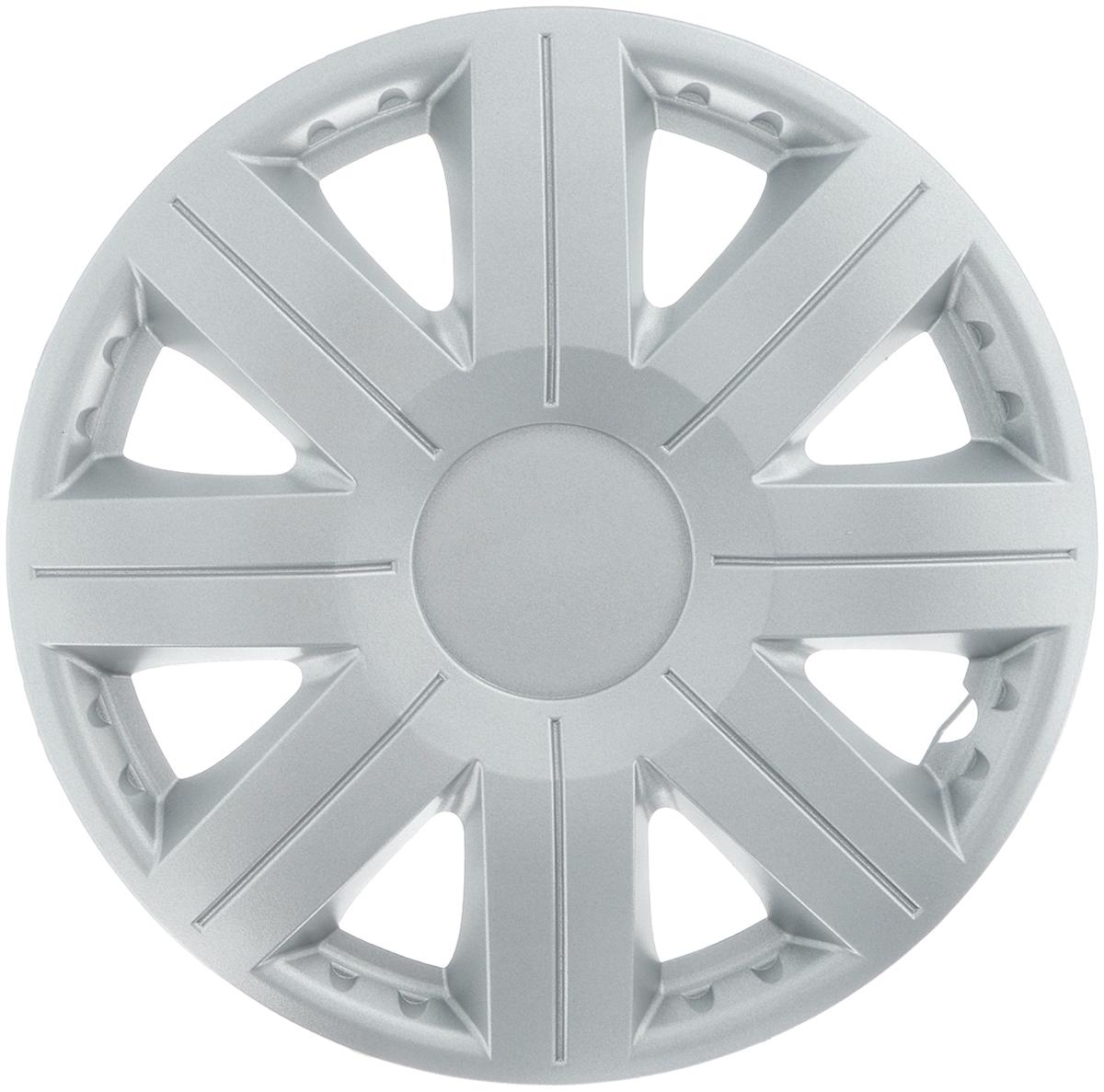 Колпак защитный Phantom Космос, R13 , декоративный, 1 шт. PH57574603726128094Колпак Phantom Космос предназначен для защиты колесного диска и тормозной системы от загрязнений, а также для декоративного украшения автомобиля.Колпак изготовлен из высококачественного масло-бензостойкого пластика, а крепление в виде распорного кольца - из металла.Размер колеса: R13.Диаметр колпака: 37 см.