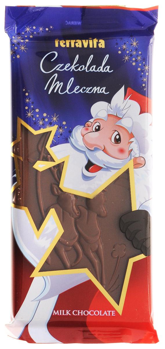 Terravita Шоколад молочный новогодний