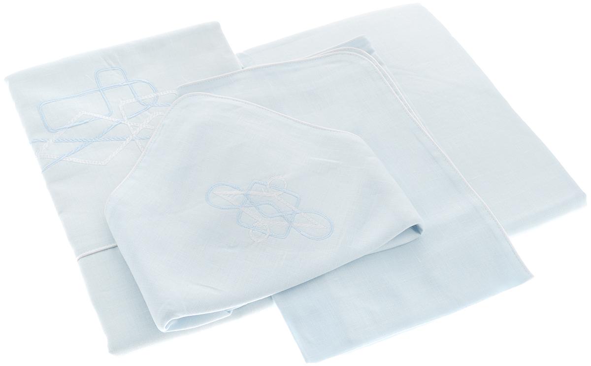 Комплект белья Гаврилов-Ямский Лен, 1,5-спальный, наволочки 70х70, цвет: голубойSC-FD421004Комплект постельного белья Гаврилов-Ямский Лен выполнен из 100% льна. Комплект состоит из пододеяльника, простыни и двух наволочек. Постельное белье, оформленное вышивкой и кантом, имеет изысканный внешний вид.Лен - поистине уникальный природный материал, экологичнее которого сложно придумать. Постельное белье из льнадаст вам ощущение прохлады в жаркую ночь и согреет в холода.Приобретая комплект постельного белья Гаврилов-Ямский Лен, вы можете быть уверены в том, что покупка доставит вам и вашим близким удовольствие и подарит максимальный комфорт.