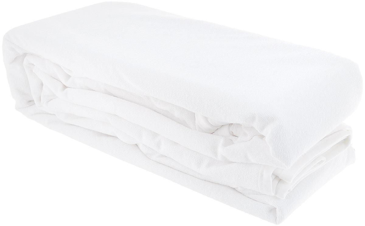 Наматрасник водонепроницаемый Acelya PVC, цвет: белый, 200 х 200 см80221Водонепроницаемый наматрасник Acelya PVC с наполнителем из полиэстера сделает ваш сон еще комфортнее. Чехол, выполнен из 100% хлопка.Наматрасник - это идеальная защита матраса от влаги, пыли, грязи. Чехол закрывает верхнюю и боковые части матраса, быстро и легко снимается для стирки и помогает сохранить матрас в прекрасном состоянии на протяжении многих лет. Является прочным и долговечным. Быстро сохнет. Изделие оснащено резинками по углам, поэтому прочно удерживается на матрасе и избавляет вас от необходимости часто поправлять. Водонепроницаемый наматрасник Acelya PVC станет настоящей находкой.