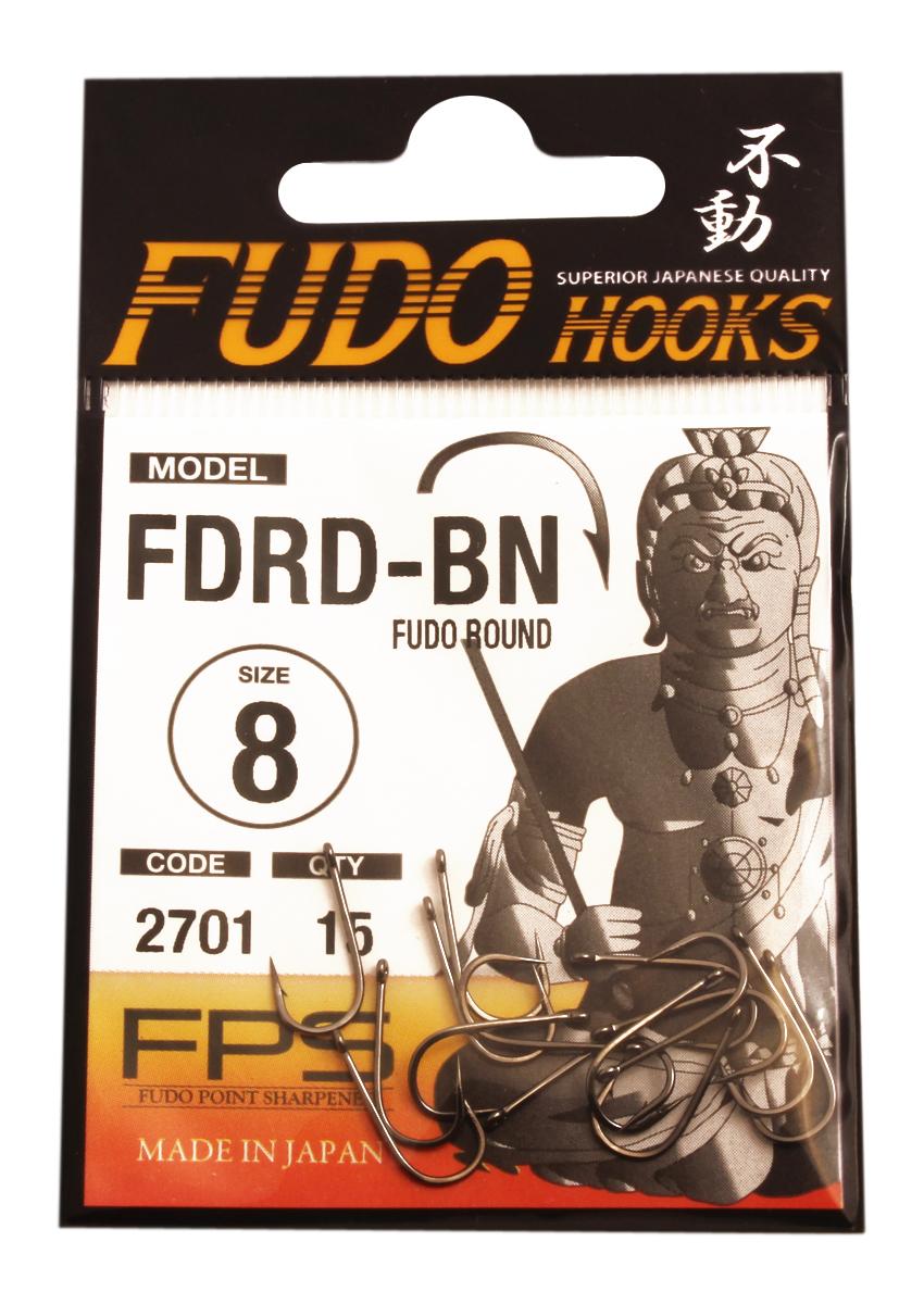 Крючок Fudo Round, №8 BN (2701), 15 шт4271842Рыболовные крючки FUDO, производства Японии, являют собой сочетание лучших материалов , лучших технологий и наилучших человеческих навыков. Основными характеристиками крючков являются : 1 ) оптимальная форма -с точки зрения максимального улова. 2) Экстремальный заточка крюка , которая сохраняется при длительной ловле. 3) Отличная эластичность, что позволяет им противостоять деформации. 4) Общая коррозионная стойкость в процессе производства , благодаря нескольким патентам в области металлургии и производства техники. Сталь с управляемым содержания углерода -это те материалы, которые применяются в производстве крючков. Эти материалы, в виде калиброванной проволоки ,изготавливаются исключительно для инжиниринговой службы FUDO . После чего, крючок подвергается двум различным методом для заточки : механическим и химическим. Во время заточки, уровень остроты контролируется онлайн , что в итоге приводит к идеальному повторению всей серии. Прочность крючка реализуется через печи , где система компьютерной помощи регулирования температуры , позволяет достичь точности в производстве в 0,01 градуса по Цельсию, и времени обработки с точностью 0, 001 секунды. В результате крючки FUDO получаются абсолютно закаленными , что позволяет добиться отличного результата по твердости и эластичность, а также все модели крючков обладают анти коррозионным покрытием. Место крепления крюка с леской, выполненно в виде лопатки.